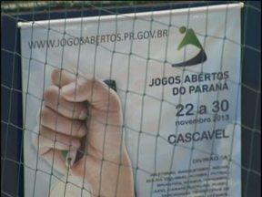Jogos Abertos do Paraná começam hoje em Cascavel - Mais de três mil atletas estão na cidade para participar da competição.