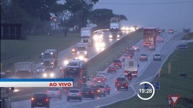 Queda nas temperaturas traz chuva para as cidades da região - Dados são do Cptec/Inpe de Cachoeira Paulista.