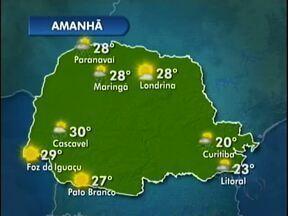 Sábado quente na fronteira - A previsão é de sol para o Oeste e o Sudoeste do Estado.