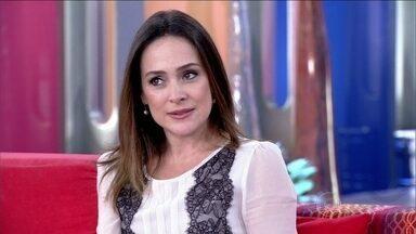Gabriela Duarte diz que o marido é um excelente pai - Atriz afirma: 'O momento que eu mais me divirto é com a família'