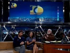 Atores Fabiula Nascimento e João Miguel estão no filme 'Estômago' - Eles falam de suas carreiras e do filme, que teve a participação do 'titã' Paulo Miklos
