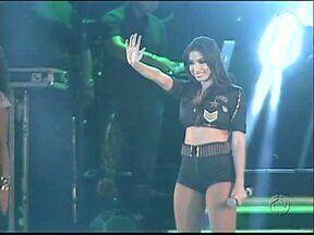Cantora Anitta faz show em Ponta Grossa e lota o Centro de Eventos - Além dela o cantor Armandinho também se apresentou.