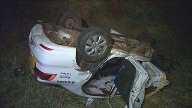 Soldado da Polícia Rodoviária morre em acidente em rodovia - Viatura seguia para Serra Azul (SP) e foi atingida de frente por outro veículo que invadiu a pista contrária.