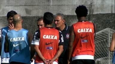 No adeus a Tite, Corinthians quer vitória para dar alegria ao técnico - Jogadores do Timão esperar bater o Náutico no domingo para dedicar triunfo ao técnico que vai deixar o clube no fim deste ano