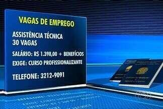 Confira as vagas de emprego em Goiânia - Empresa contrata funcionários para assistência técnica.