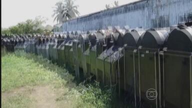 Pernambucanos são presos acusados de integrar quadrilha que explorava jogo do bicho - Quase 40 pessoas atuavam no grupo, que usava as máquinas no Rio Grande do Norte e tinha ramificações em Pernambuco e no Rio de Janeiro.