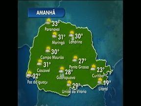 Vai chover forte novamente nesta sexta-feira - Máxima em Curitiba não passa dos 23º.