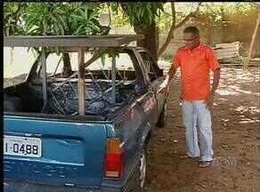 Vítimas que tiveram os carros queimados em Palmas querem prisão de culpados - Vítimas que tiveram os carros queimados em Palmas querem prisão de culpados