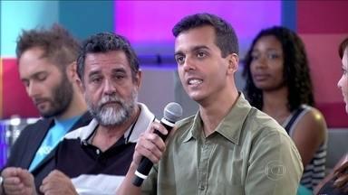 Hugo Mansur voltou a morar com os pais depois da separação - Engenheiro passou por uma situação difícil na época