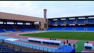 Conheça o estádio que o Galo vai jogar no Mundial de Clubes - Em Marrakesh, casa do Galo tem cores predominantes de azul