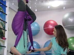 Pilates Aéreo é a nova moda entre as mulheres teresinenses - Pilates Aéreo é a nova moda entre as mulheres teresinenses