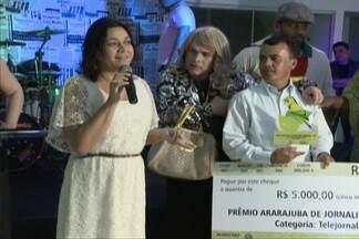 Jornalismo do Sistema Mirante ganha mais um prêmio - Premiação foi uma iniciativa da Secretaria de Estado de Meio Ambiente e Recursos Naturais.