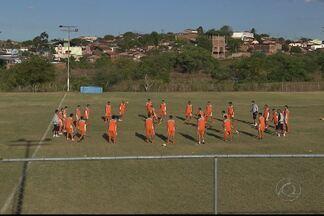 Campinense faz o primeiro treino com bola da pré-temporada - Raposa está treinando em Itatuba e se prepara para o Campeonato Paraibano de 2014.
