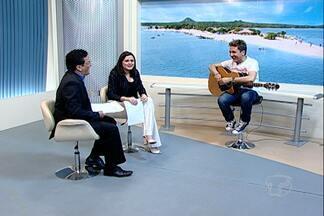 Tom Cleber volta ao Oeste do Pará para duas apresentações - O cantor esteve no JT antes dos shows em Alenquer e Terra Santa no fim de semana.