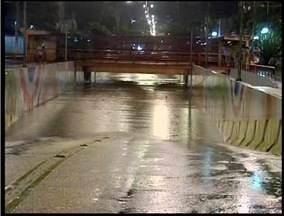 Em poucas horas chove em Valadares o esperado para uma semana - Uma coletiva de imprensa foi realizada para avaliar os prejuízos do temporal.