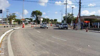 Trecho da Avenida José Bastos será fechada para obras neste fim de semana - Obras do VLT também causam intervenção na Avenida Borges de Melo.