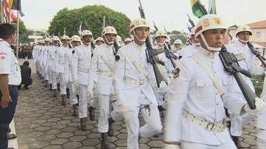 Cerimônia comemora Dia do Marinheiro, em Manaus - Data teve entrega do Mérito Tamandaré.