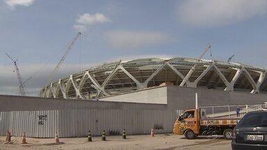 Operário morre ao cair de altura de 35 metros no estádio da Copa, em Manaus - Cearense de 22 anos trabalhava na montagem da cobertura do estádio.Este é o segundo acidente com vítima fatal na obra da Arena da Amazônia.