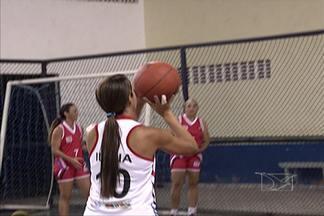 Maranhenses comemoram boa campanha no Master de basquete - Equipe maranhense realiza boa campanha no torneio realizado no Nordeste