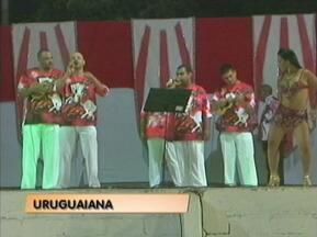 Escola de Samba Cova da Onça apresenta o samba-enredo para o Carnaval de 2014 - Escola é a atual campeã do Carnaval de Uruguaiana, RS.