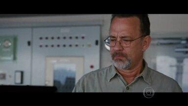 Tom Hanks fala sobre sua atuação em 'Capitão Philips' - Hanks é um dos favoritos para levar o Globo de Ouro. Ele pode ganhar o terceiro prêmio de melhor ator pela atuação no filme, que recria a história do capitão americano.