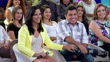 Jéssica e Gustavo se conheceram na festa da empresa - Casal está junto desde 2010