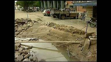 Nova Venécia, Região Norte do ES, é uma das mais prejudicadas com as chuvas - O Prefeito vai decretar estado de calamidade pública no município.