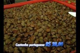 Ceasa realiza feirão até o meio dia de produtos da ceia de natal com desconto - Confira os preços dos principais itens da ceia.