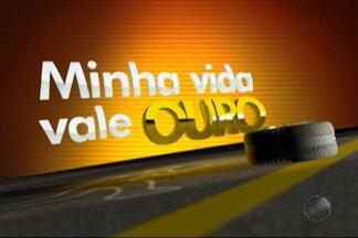 Baianos aderem à campanha 'Minha Vida Vale Ouro' do Jornal da Manhã - A campanha foi criada para conscientizar os telespectadores sobre os perigos das estradas.