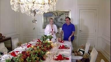 Vic Meireles é o responsável pela decoração de Natal da casa de Ana Maria - Decorador mostra alguns trabalhos que já fez para as festas de fim de ano