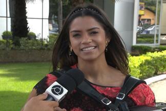 Lucy Alves fala sobre a expectativa para a grande final do The Voice Brasil - Final será na quinta-feira e a TV Cabo Branco vai preparar uma estrutura para fãs e familiares torcerem pela paraibana.