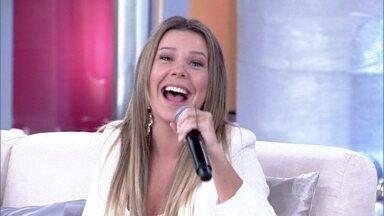 Fernanda Souza vai preparar a casa para o casamento em 2014 - A atriz disse que será um ano corrido para ela e Thiaguinho