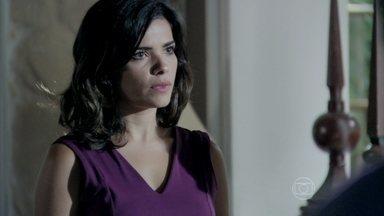 Aline é forçada a aceitar a presença de Rebeca em sua casa - Lutero explica que César precisará de cuidados especiais