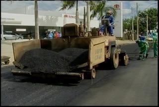 Prefeitura de Montes Claros realiza obras de recuperação de asfalto em avenidas - Avenidas José Correa Machado e Deputado Esteves Rodrigues são as principais.