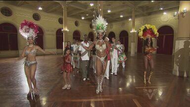 Representante do Guarujá participa do Rainha do Carnaval na capital - Ana Paula é rainha da bateria da X-9