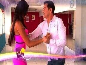 Chama Se Liga VM com Beto Barbosa - Cantor ensina como se dança uma lambada