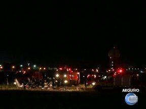 Laudo com motivos da queda de avião no aeroporto de Teresina pode demorar 1 ano - Testemunhas do acidente com avião em Bom Jesus prestam depoimento e Laudo com motivos da queda de avião no aeroporto de Teresina pode demorar 1 ano