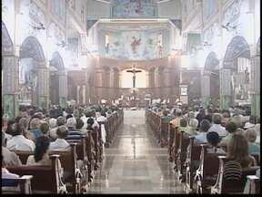 Missa é realizada em homenagem a São Sebastião - Comemoração do padroeiro de Presidente Prudente foi nesta segunda-feira (21).