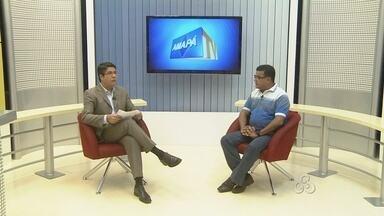 Entrevista com o prefeito de Laranjal do Jari Bode Queiroga - Entrevista com o prefeito de Laranjal do Jari Bode Queiroga