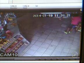 Polícia prende ladrão que roubou o mesmo posto de combustível seis vezes - Crimes ocorreram em Votorantim. Ele confessou os crimes, dois deles registrados por câmeras de segurança.