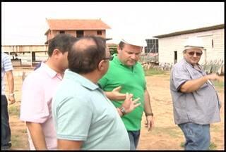 Governador do estado visita obras do estado em Santarém - O prefeito Alexandre Von aproveitou para pedir agilidade em outros projetos estaduais no município.