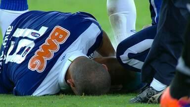 Nilton revela cirurgia feita no joelho. Cruzeiro não se manifesta - Volante do Cruzeiro revela que foi submetido a uma cirurgia no joelho direito no ano passado