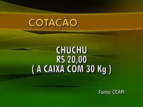 Confira o preço de venda de alguns produtos na Central de Abastecimento do Piauí - Confira o preço de venda de alguns produtos na Central de Abastecimento do Piauí