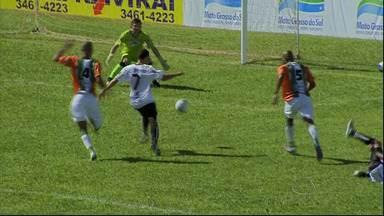 Principais lances do 1º tempo de Naviraiense x Ubiratan - Principais lances do 1º tempo de Naviraiense x Ubiratan, pela 2ª rodada do Campeonato Sul-Mato-Grossense