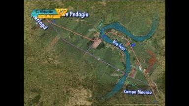 PR-317 começa a ser duplicada no noroeste do Paraná - Obra deve ficar pronta no ano que vem.