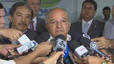 Interrupções de energia em Manaus devem ter fim em abril, diz Eletrobras - Novos equipamentos de distribuição estão sendo instalados na capital.Sistema que deve ligar Manaus ao Linhão de Tucuruí custa R$ 524 milhões.