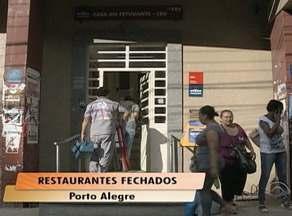 Restaurantes universitários da UFRGS são fechados em Porto Alegre - Cinco estabelecimentos tiveram de parar os trabalhos devido a liminar da Justiça Federal.