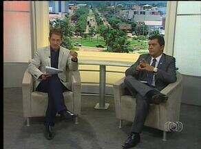 Em entrevista, prefeito de Palmas fala sobre a licitação da limpeza urbana - Em entrevista, prefeito de Palmas fala sobre a licitação da limpeza urbana