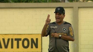 Eduardo Hungaro se diz pronto para o desafio de conduzir o Botafogo na Libertadores - Técnico diz ter o segredo para o sucesso do Glorioso.