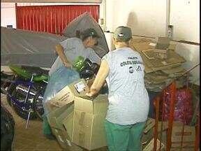 Catadores de materiais recicláveis estão animados com a possibilidade de lucros - Nesse começo de ano, e com o grande consumo de bebidas durante o verão, tem muita coisa pra ser reciclada.